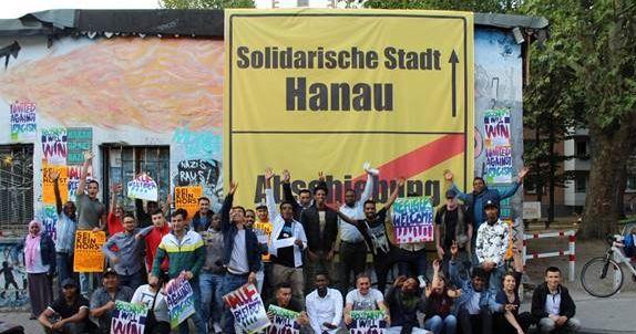 Demo in Hanau
