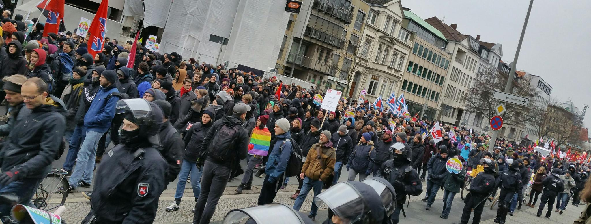 Protest AfD Hannover