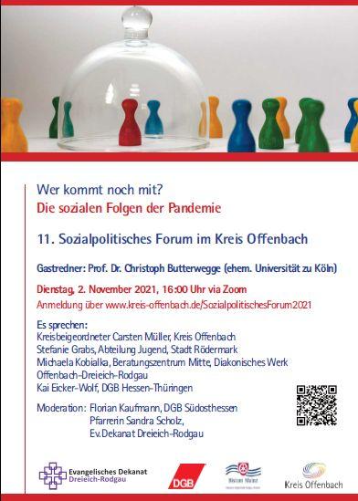 11. Sozialpolitisches Forum im Kreis Offenbach