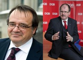 Dr. Matthias Zimmer (CDU/CDA)   Stefan Körzell (DGB)