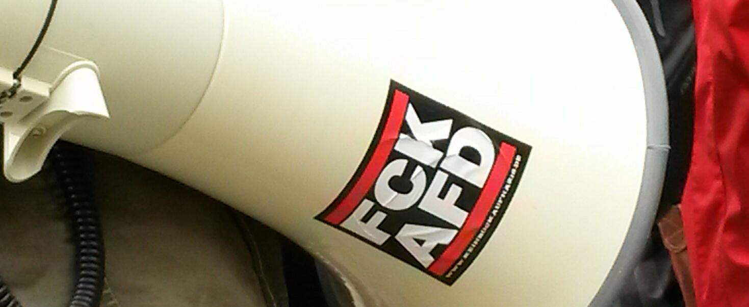 AfD-Schild