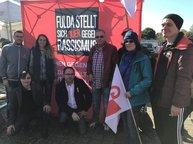Gewerkschafter_innen lautstark gegen die AfD in Fulda-Neuhof!